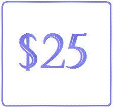 25-Dollar Gift Certificate GC-25