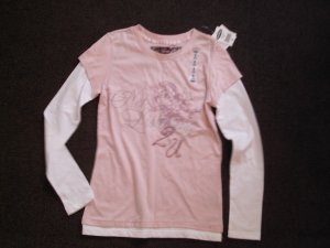 Girls long sleeve old navy tee nwt M