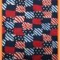 Toddler Bib American Flag on Dark Blue Sale Price