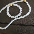 Necklace- bracelet-earring ,Bride-Bridesmaid, wedding moonstone set .