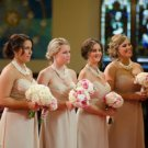 Wedding Bold Bridal,Handmade,chunky layered ,ivory pearl ,precious necklace