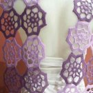 Hand crocheted lilac scarf,shawl