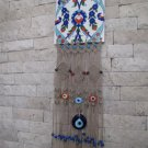 Macrame evil eye wall hanging .OOAK