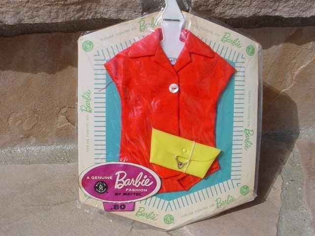 Vintage Barbie Plain Blouse and Purse Pak (1962-63)