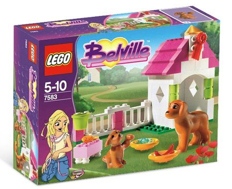 Lego Belville Playful Puppy 7583 (2009) New! Sealed! Pre Friends