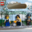 Lego Minifigure Set Pleasanton Store Grand Opening (2011) New! RARE!