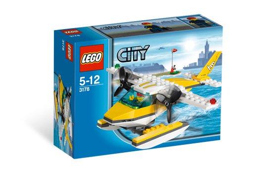 Lego City Seaplane 3178 (2010) New! Sealed!
