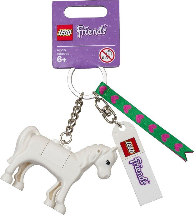 Lego Friends Horse Bag Charm (2013) New!