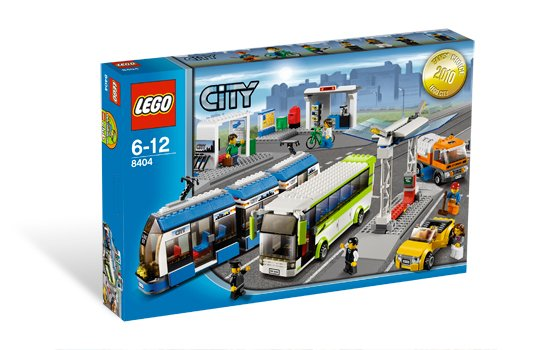 Lego City Public Transport Station 8404 (2010) New! Sealed!