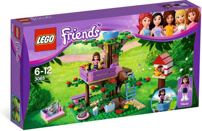Lego Friends Olivia's Tree House 3065 (2012) New Factory Sealed Set!
