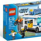 Lego City Prisoner Transport 7286 (2011) New Factory Sealed Set!