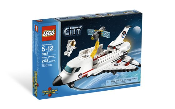 Lego City Space Shuttle 3367 (2011) New Factory Sealed Set!