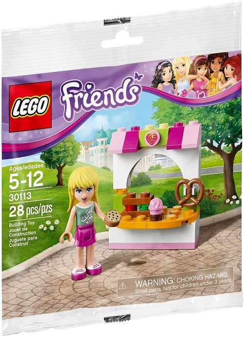 Lego Friends Stephanie's Bakery Stand 30113 (2014) New Factory Sealed Set!