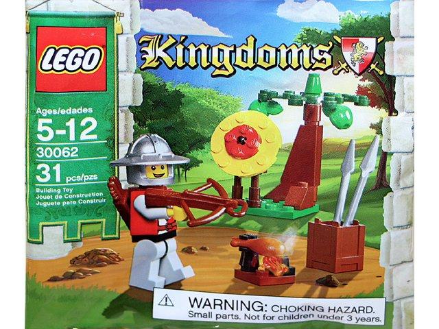 Lego Kingdoms Target Practice 30062 (2010) New Factory Sealed Set!