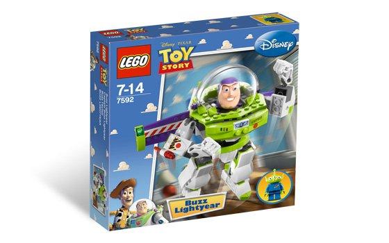 Damaged Box Lego Toy Story Construct-a-Buzz 7592 (2010) New Sealed Set!
