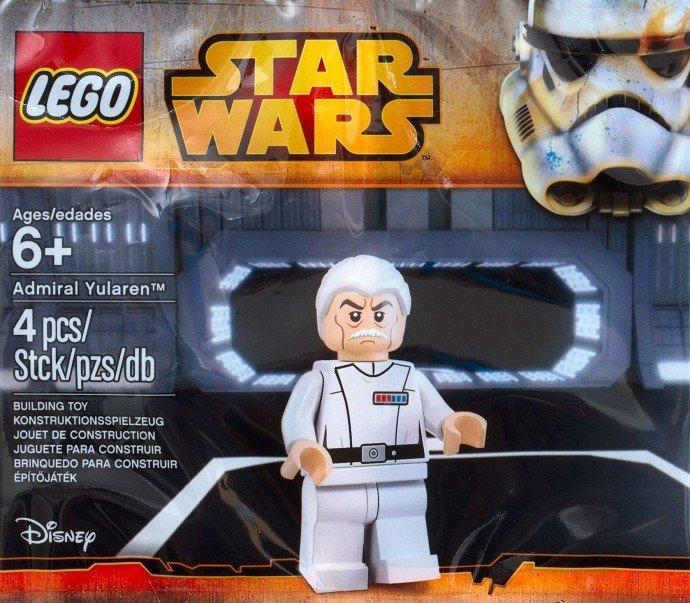 Lego Star Wars Admiral Yularen 5002947 (2015) Factory sealed set!