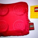 Lego Red Reusable NylonTote Bag 852858 (2010) New with Tag!
