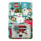 Target Holiday Gift Card Bullseye Polar Bear Snowman (2011) New Factory Sealed Set!