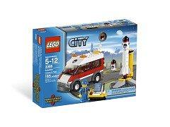 Lego City Space Satellite Launch Pad 3366 (2011) New Sealed Set!