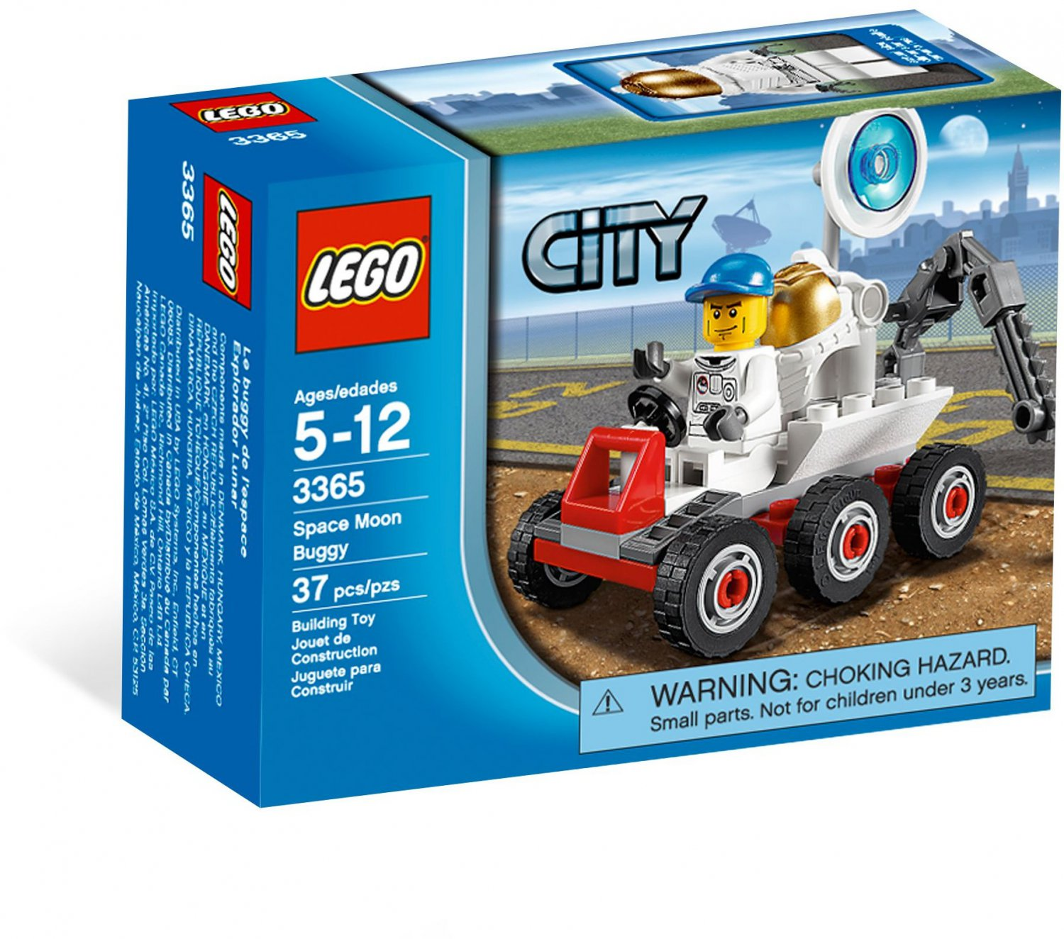 LEGO® City Space Moon Buggy 3365 (2011) New Factory Sealed Set!