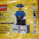 Lego 2010 Bricktober Cavalry Colonel Magnet 2855044 New in Polybag!