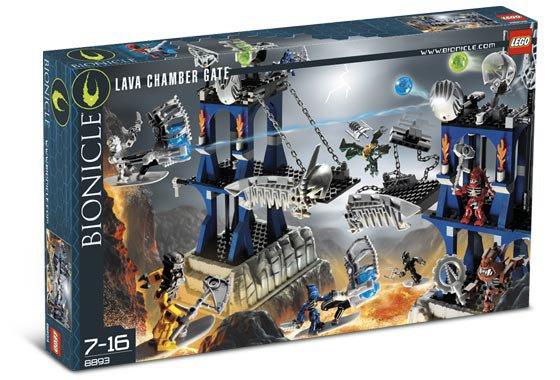 Lego Bionicle Lava Chamber Gate 8893 (2006) New! Sealed!