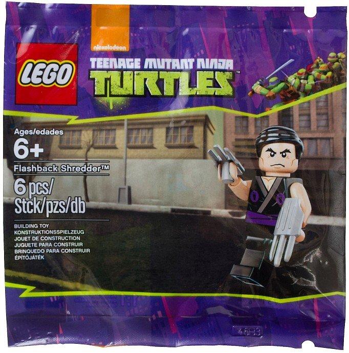 Lego Teenage Mutant Ninja Turtles Flashback Shredder 5002127 (2014) New Factory Sealed Set!