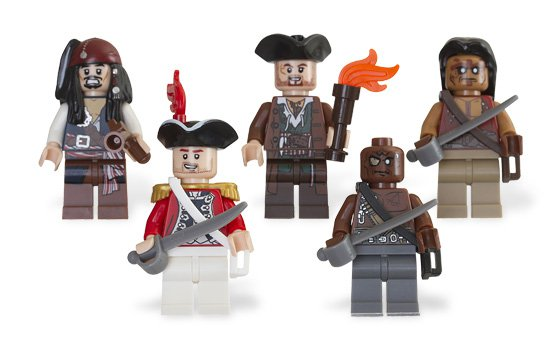 Lego Pirates of the Caribbean Battle Pack 853219 (2011) Sealed!