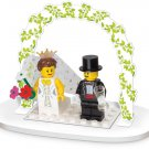 Lego Wedding Bride and Groom Favour Table Decor Set 853340 (2011) New! Sealed Set!