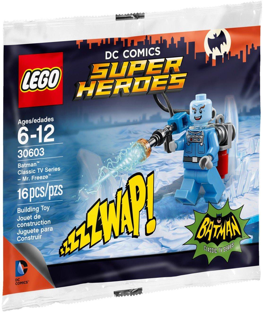 Lego Super Heroes Mr. Freeze 30603 (2016) New Factory Sealed Set!