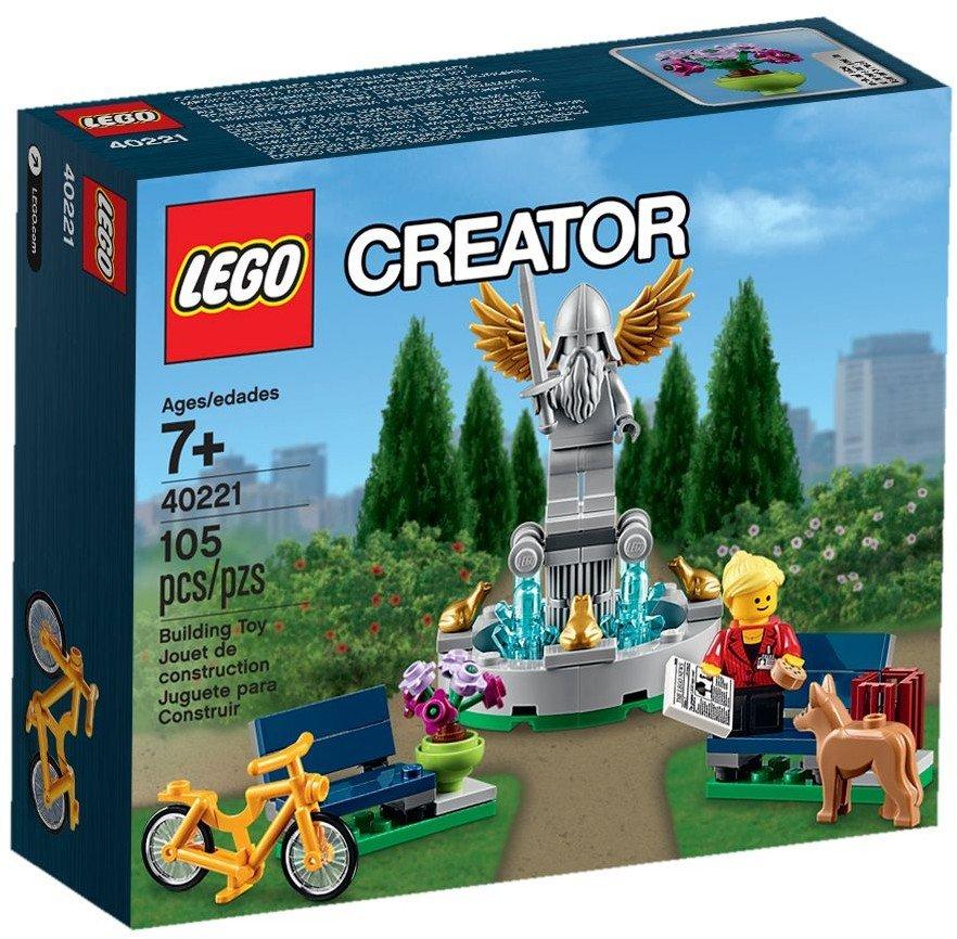Lego Exclusive! 2016 Creator Fountain (40221) New Sealed Set!