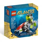 Lego Atlantis Sea Jet 8072 (2010) New! Sealed Set!