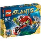 Lego Atlantis Wreck Raider 8057 (2010) New! Sealed Set!
