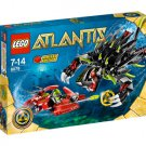 Lego Atlantis Shadow Snapper 8079 (2010) New! Sealed Set!