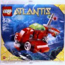 Lego Atlantis Neptune Microsub 20013 (2010) New! Sealed Set! Brickmaster