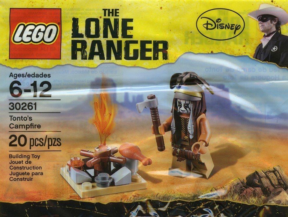 Lego The Lone Ranger Tonto's Campfire 30261 (2013) Factory Sealed Set!
