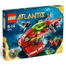 Lego Atlantis Neptune Carrier 8075 (2010) New! Factory Sealed Set!