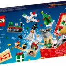 Lego 2016 Holiday Christmas Build-Up 24-in-1 40222 Factory Sealed Set!