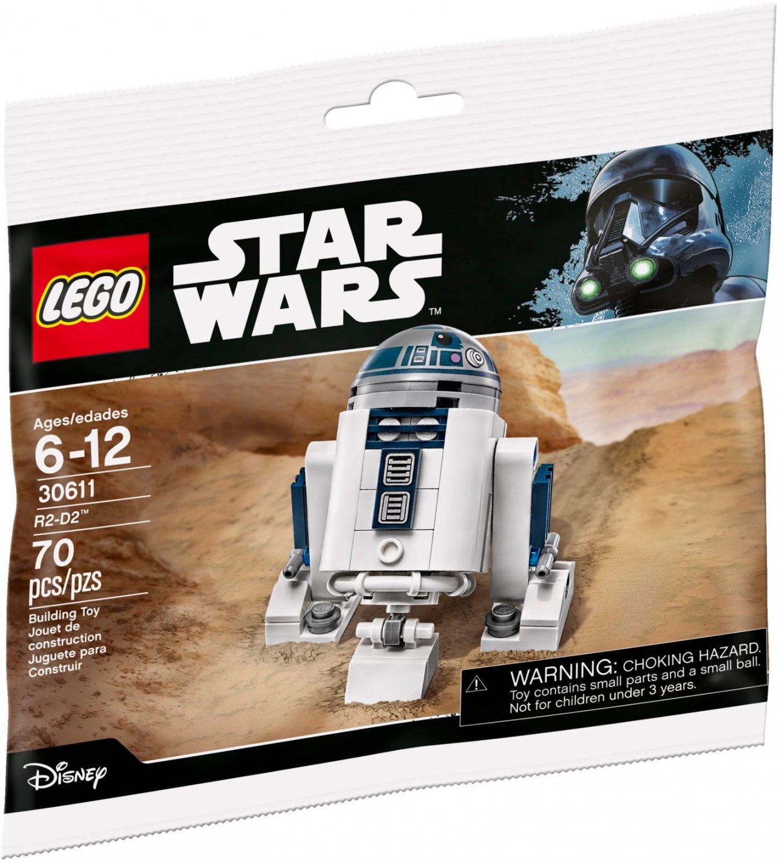 Lego Star Wars R2-D2 30611 (2017) New! Sealed! Promotional Set!