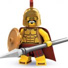 Genuine Lego Minifigure Series 2 8684 Spartan Warrior (2010) New! Factory Sealed!