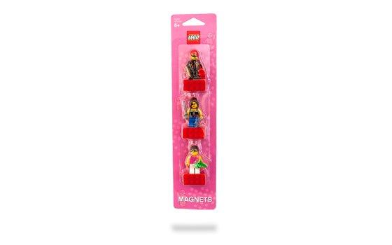 Lego Female Minifigure Magnet Set 852948 (2010) New! Sealed on Blister Pack!
