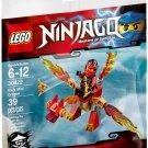 Lego Ninjago Kai's Mini Dragon 30422 (2016) New Factory Sealed Set!
