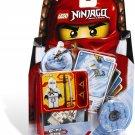 Lego Ninjago Zane Spinjitsu Master 2113 (2011) New in Package! Rarest!!