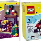 Lego Holiday Santa's Visit 40125 & Winter Fun 40124 (2015) New Factory Sealed Sets!