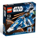 Lego Star Wars Plo Koon's Jedi Starfighter 8093 (2010) New! Sealed!