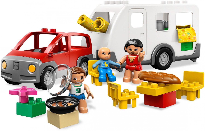 Lego Pre-School Duplo Caravan 5655 (2010) New! Sealed!