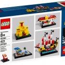 Lego 60 Years of the LEGO® Brick 40290 (2018) New Factory Sealed Set!