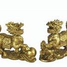 Set of Qi Lings Statues