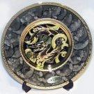 Golden Dragon Gift Plate (24K Gold)