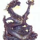 Bronze Dragon Sculpture 7.2""